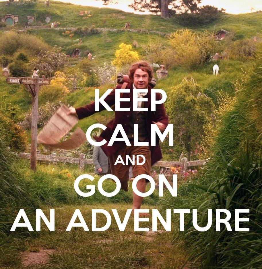 have an adventure